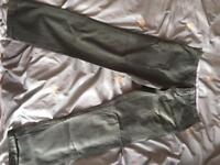 Price drop!! £30 Mens Tommy Hilfiger green chino trousers
