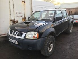 Nissan navara jeep diesel spare parts available
