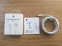 Lightning charging cable 2 metre Brand new - Iphone, Ipad, iPod RRP £29
