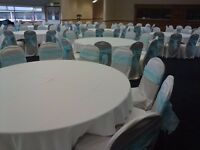 Chair Covers and Backdrop