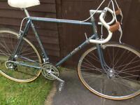 Vintage falcon road racing touring city bike - lightweight steel frame