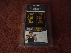 Everlast Weightlifting Straps new in packaging