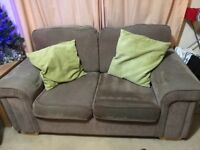 2 sofa's and arm chair FREE!