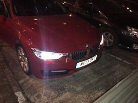 BMW 320d Sport, 184bhp, Angel eyes xenon lights, Head up display, Sat Nav.
