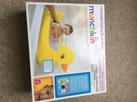 BRAND NEW Inflatable duck baby bath
