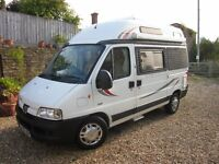 Peugeot Auto-Sleeper Symbol, very good condition and dealer guarantee.