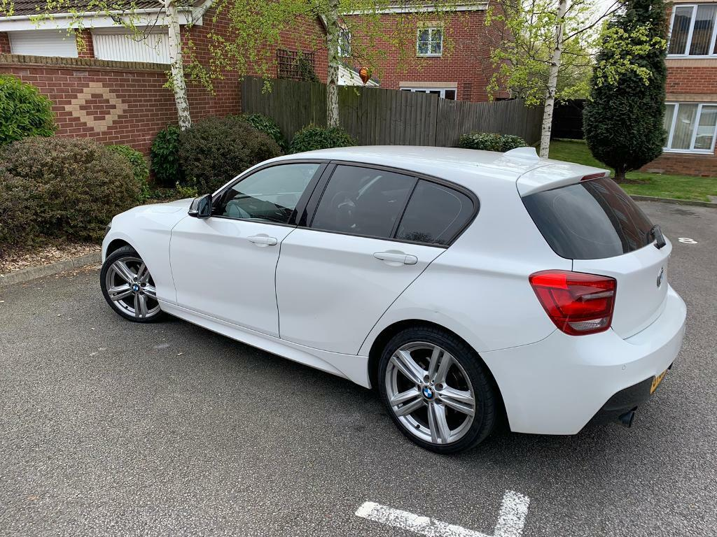 Bmw 125i start stop, key less, part service history   in Arnold,  Nottinghamshire   Gumtree