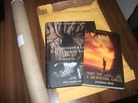 A Monster Calls, plus the film cover edition and poster brand new