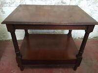 1950s Side Table With Drawer