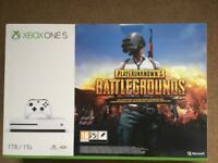 New Xbox one S 1tb with game