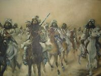 Original Signed S S Hyder 1968 Oil Painting - Pakistan Master