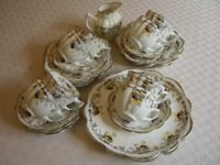 Vintage 8 piece China tea set.