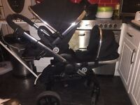 Icandy blossom peach 3 for sale includes both seats and adaptors fab condition