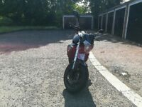 WK Bikes 125 SS - with low mileage