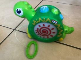 Little Tikes Sounds pull along dinosaur