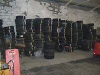 PART WORN CAR TYRES 13 -20 INCH OVER 300 IN STOCK IV18 0LP ROSS-SHIRE