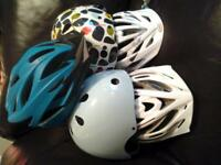 Bike helmets/ Sports helmets 5 NEW