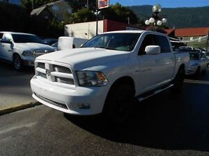 2012 Ram 1500 SPORT, POWER SUNROOF, BUCKET SEATS, UP GRADED WHEE