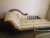 Antique Chaise Longue