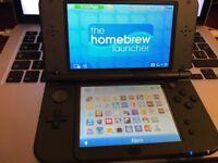 NEW Nintendo 3DS XL Black CFW and Pokemon Y