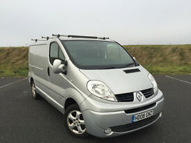 VERY LOW MILEAGE 2008 RENAULT TRAFIC SPORT DCI ONLY 46,000 MILES GREAT VAN!
