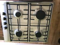 Neff stainless steel 4 ring gas hob
