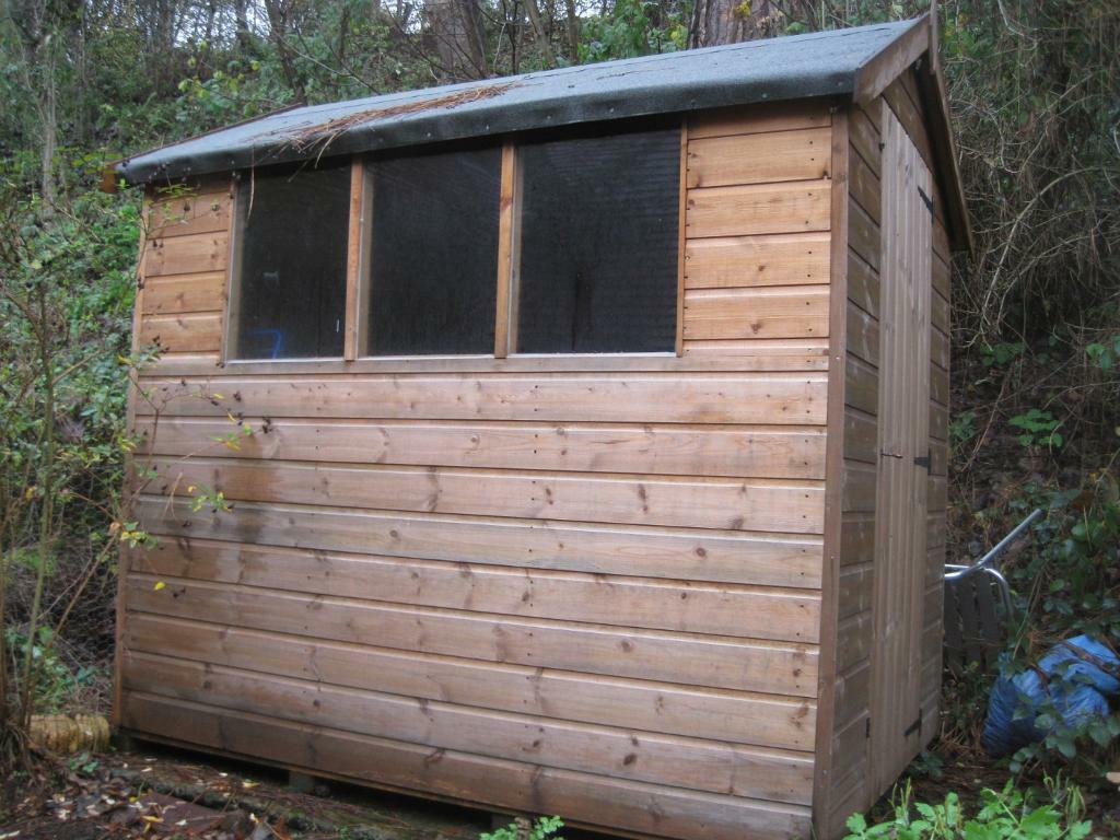 7x5 apex garden shed united kingdom gumtree for Garden shed 7x5