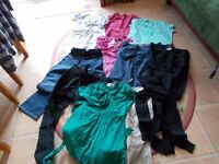 Maternity clothes size 8/10 bundle of 10 items