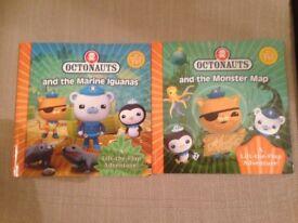 Octonauts Books & Dvds Bundle