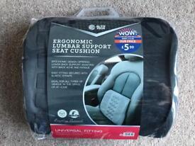 BRAND NEW AUTO TECH ERGONOMIC LUMBAR SUPPORT SEAT CUSHION