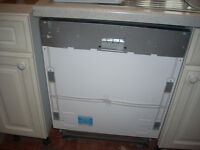 New Beko Integrated Dishwasher with 2 year Beko Warranty