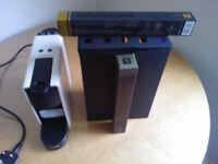 Krups Nespresso XN110840 Essenza Mini Pod Coffee Maker White + 130 original pods