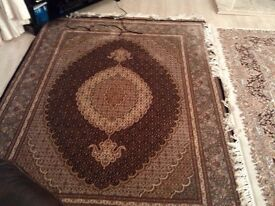Handwoven Silk Persian Rug (Imported)