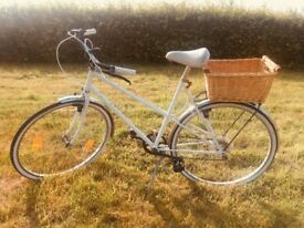 Great White Ladies retro vintage bike with basket
