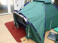 Khyam Sierra quick erect tent. 2/3 berth. Suit touring motorcycling