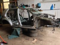 VW GOLF MK4 SILVER LA7W BREAKING BARE STRIPPED CAR CHASSIS FLITCH SHELL