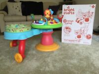 Bright Stars 3 in 1 around we go activity table. With original box. Immaculate condition.
