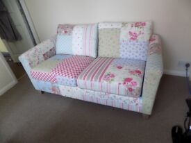 SOFA BED EX DFS BRAND NEW UNUSED A BARGAIN