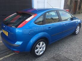 2006 FORD FOCUS SPORT 1.8L-5 DOOR HATCHBACK MANUAL PETROL ONE YEAR MOT SERVICE HISTORY