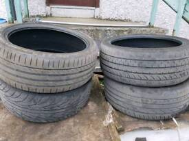 ×4 Part wore tyres 205/40/17