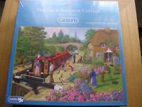 Jigsaw puzzle called: The Lock Keepers Cottage.