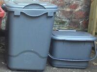 1 x Kerbside Food and 1 x Food Waste Caddy