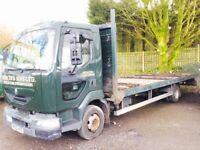 Renault Midlam Flat bed Lorry 7500 KG HGV