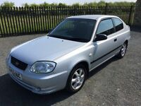2006 55 HYUNDAI ACCENT 1.3 GSI 3 DOOR HATCHBACK - ONLY 2 FORMER KEEPERS - CHEAP EXAMPLE!