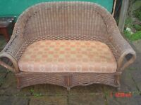 CANE SETTEE FOR REPAIR