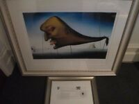 SALVADOR DALI LIMITED EDITION PRINT 'SLEEP' NO.6 OF 75 WORLDWIDE, COMPLETE WITH AUTHENTICATION CERT.