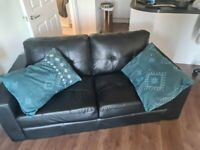 Selling black couch/sofa