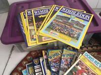 Wimbledon F.C. programmes
