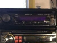 KENWOOD CAR CD STEREO WITH BLUETOOTH