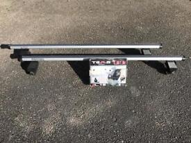 Roof bars for Mondeo or similar with no rails